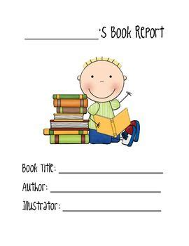 Book Reports - Priceless Fifth Graders
